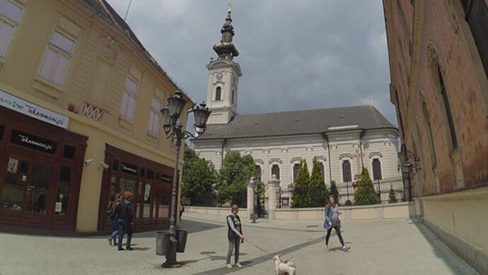 saborna crkva svetog djordja u novom sadu
