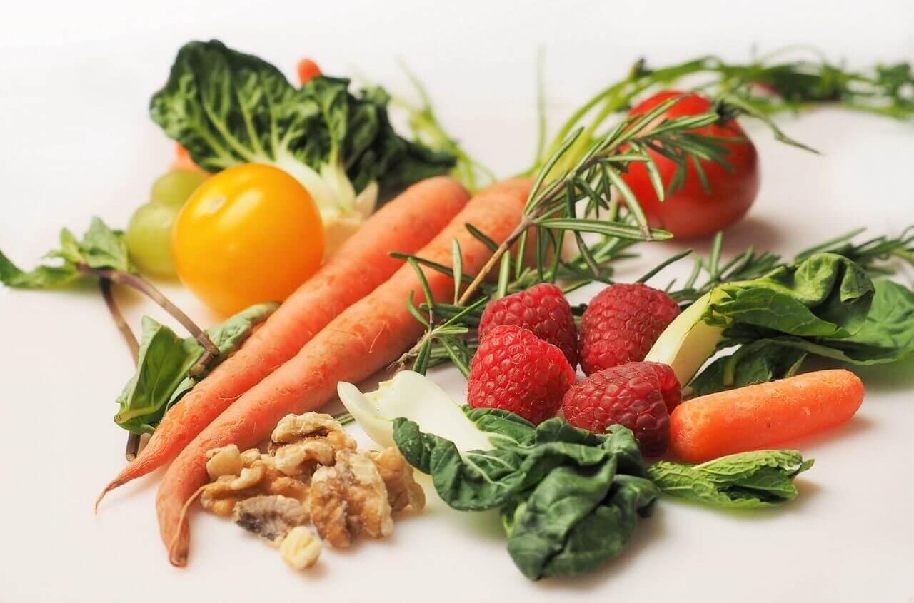 vege i vegan food